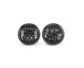 FARO LED ANTERIORE MOTO ( HARLEY-DAVIDSON -  4.65 pollici  / Motorcycle Headlamps)