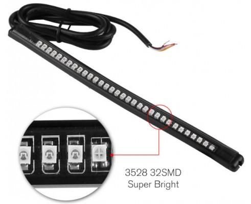 Motorcycle tail brake stop turn signal integrated 3258