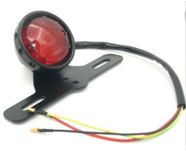Led red rear tail brake stop light motorcycle
