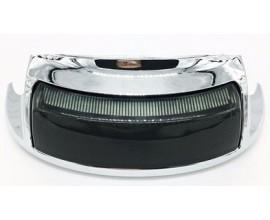 Smoke Rear Fender Tip Light with Brake light turn signal for Harley Davidson