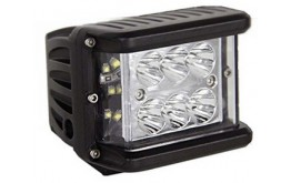 Faro a led per auto  full reflector side luminate - 60w Cree -