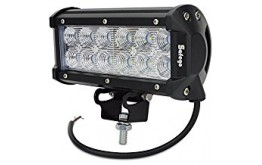 FUORI STRADA LUCE A BARRA - 18W -  LIGHT BAR Neptune  Series Two  FOR JEEP - SLT-LB4
