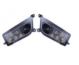 QUAD LIGHTING - FARO PER QUAD - POLARIS RZR XP1K -  RZR  1000-RZR 900