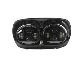 Dual Headlight For Harley Road Glide 04-13