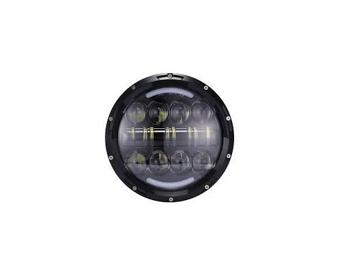 """7"""" -  80W HIGH/LOW BEAM POSITION FOR MOTORCYCLE/CAR JEEP"""