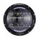 FARO LED ANTERIORE 7' 80W  ABB./ANABB.ADATTO PER  FOR MOTO/JEEP
