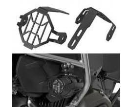 Griglie di protezione per fari fendinebbia LED da motocicletta, per BMW R 1200 GS, nere