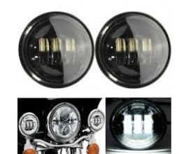 LED HEADLIGHT  - 4.5 inch -  HARLEY DAVIDSON (FOG LIGHT)