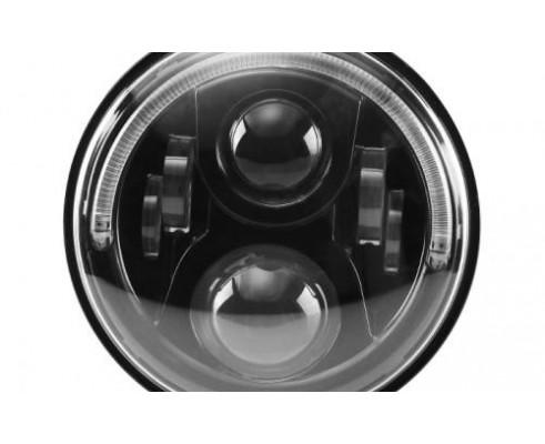 FARO A LED PER  MOTO E AUTO/JEEP 40W 7 POLLICI