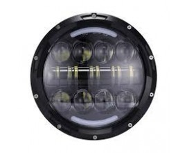 FARO A LED ANTERIORE 7' 80W  ABB./ANABB.ADATTO PER  FOR MOTO/JEEP