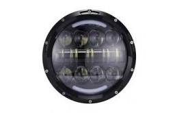 FARO A LED ANTERIORE 7' 80W  ABB./ANABB.ADATTO PER  FOR MOTO/JEEP