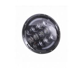 FARO LED ANTERIORE MOTO/AUTO (abbagliante e anabbagliante -  7 pollici)