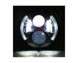 LED Headlight for Wrangler/Motorcycle  (7 inch High/Low Beam)