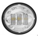 SET FARI  LED ANTERIORI   MOTO  -  HARLEY DAVIDSON - 4.5 pollici -  (LUCE PER NEBBIA)