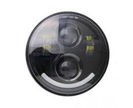 "FARO LED ""SMILE"" ANTERIORE MOTO/AUTO ( HARLEY-DAVIDSON   5.75 pollici)"