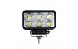 FARETTO LED RETTANGOLARE 18W - WORKING LIGHTS -