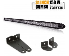 BARRA LED ILLUMINANTE 150W PER JEEP WRANGLER