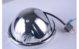 """TELAIO 4,5"""" FARO AUSILARIO LED IN METALLO PER MOTO/AUTO(HARLEY DAVIDSON)"""