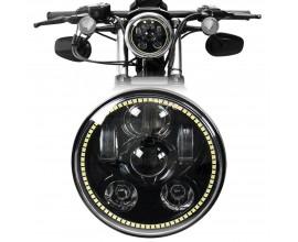 "HEADLIGHT LED 7"" FOR MOTORCYCLE/CAR - OSRAM - 40W"