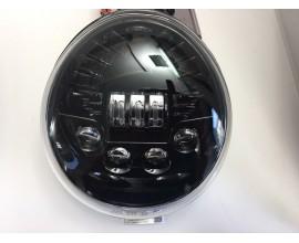 FARO LED ANTERIORE PER HARLEY V/ROAD - SFONDO NERO - 50W