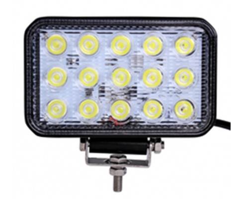 FARETTO LED RETTANGOLARE 45W - WORKING LIGHTS