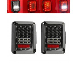 LED Tail Lamp Replacement Tail Lights Brake Reverse Lamps For 2007-2015 Jeep Wrangler JK