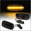 """Kit Freccia Laterale a Led """"SEQUENZIALE"""" Per Land Rover Defender Freelander Discovery OEM XGB000030 XGB100310"""
