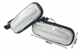 Kit Freccia Laterale a Led SEQUENZIALE  Per Land Rover Defender Freelander Discovery OEM XGB000030 XGB100310